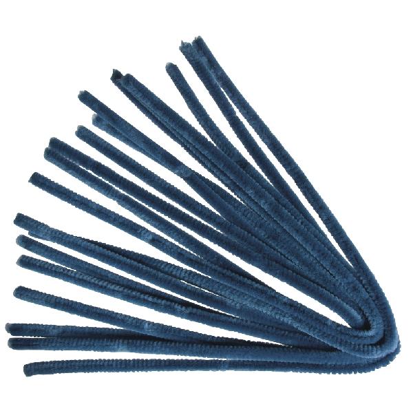 Zseníliadrót, 50 cm, teng.kék, csom. 10 db, 9 mm vastag