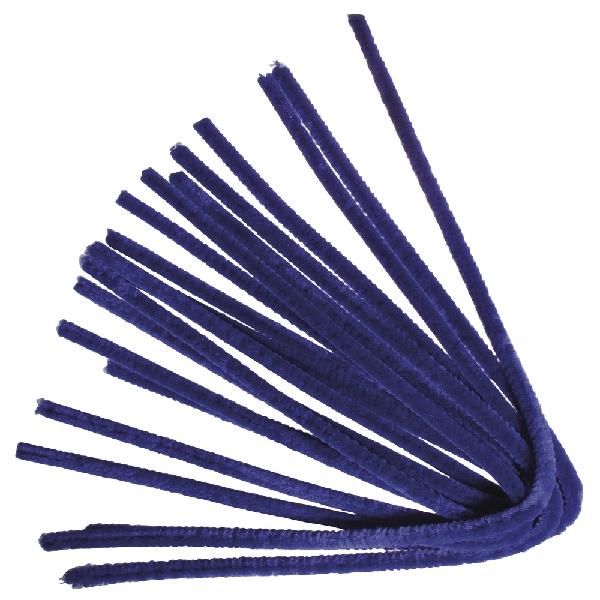 Zseníliadrót, 50 cm, söt.kék, csom. 10 db, 9 mm vastag