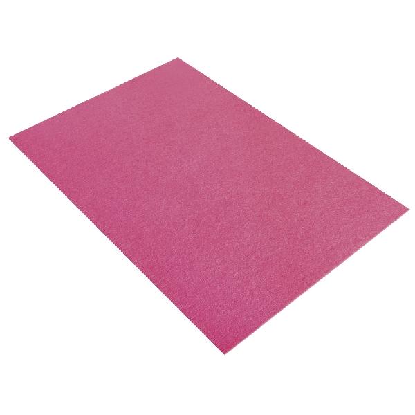 Textilfilc, poliészter, pink, 30x45x0,2 cm