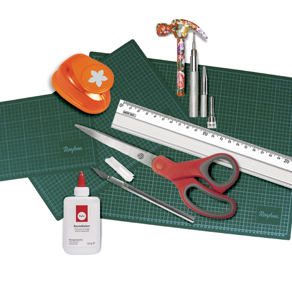 Vegyes alapanyagok és eszközök