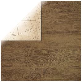 Scrapbookpapír Mahogany, 30,5x30,5cm, 150g/m2