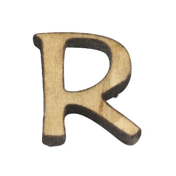 Fabetű, R, 2 cm