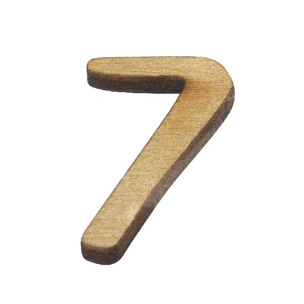 Szám fából, 7, 2 cm