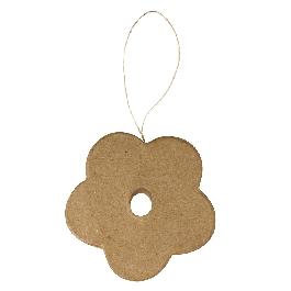 Papírmasé függő, virág, kémcsőhöz, 10x1 cm (kémcső 56-107-00)