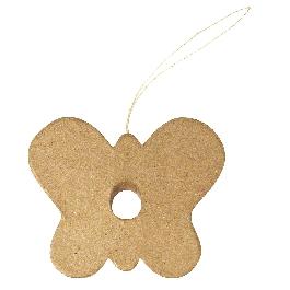 Papírmasé pillangó-függő, 10,5x8,5x1 cm, (f.Kémcső 56-107-00)
