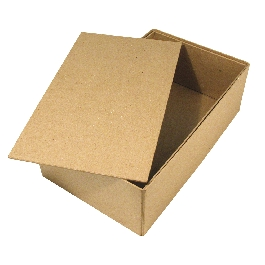 Papírmasé doboz, Cover Me, 19,5x33x11 cm