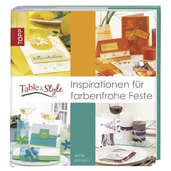 Könyv: Table & Style Inspirationen für, németül, keménytáblás, németül