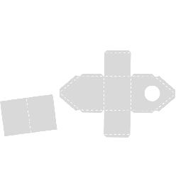 Sablon, madárház Tirol, 15,5x20,8 cm