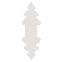 Sablon fenyőfa, 24,8x7,8 cm, 1 db