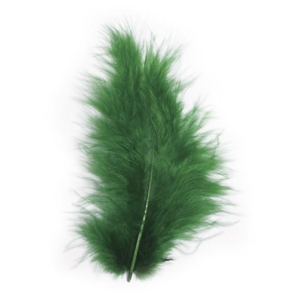 Madártoll, 8 cm, s.zöld, csom. 10 db