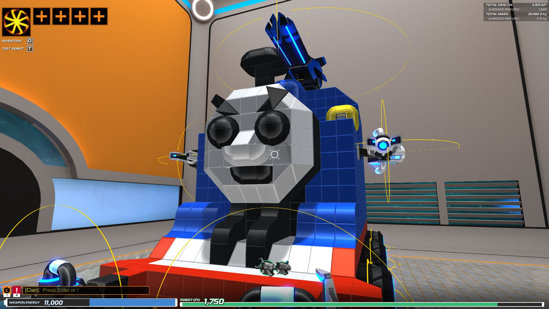 thomas robocraft garage