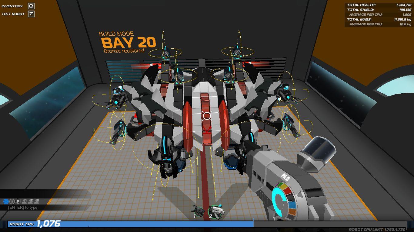 BRONZE v2 0 - Robocraft Garage