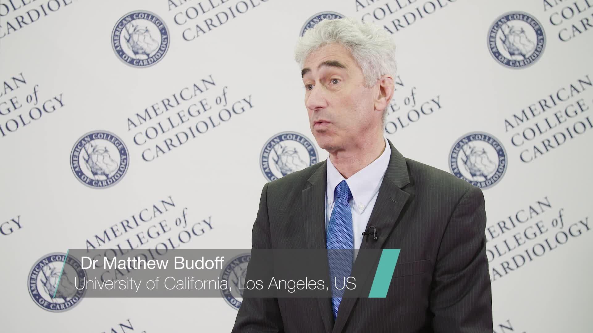 ACC 2019: REDUCE-IT - Dr Matthew Budoff | RadcliffeCardiology