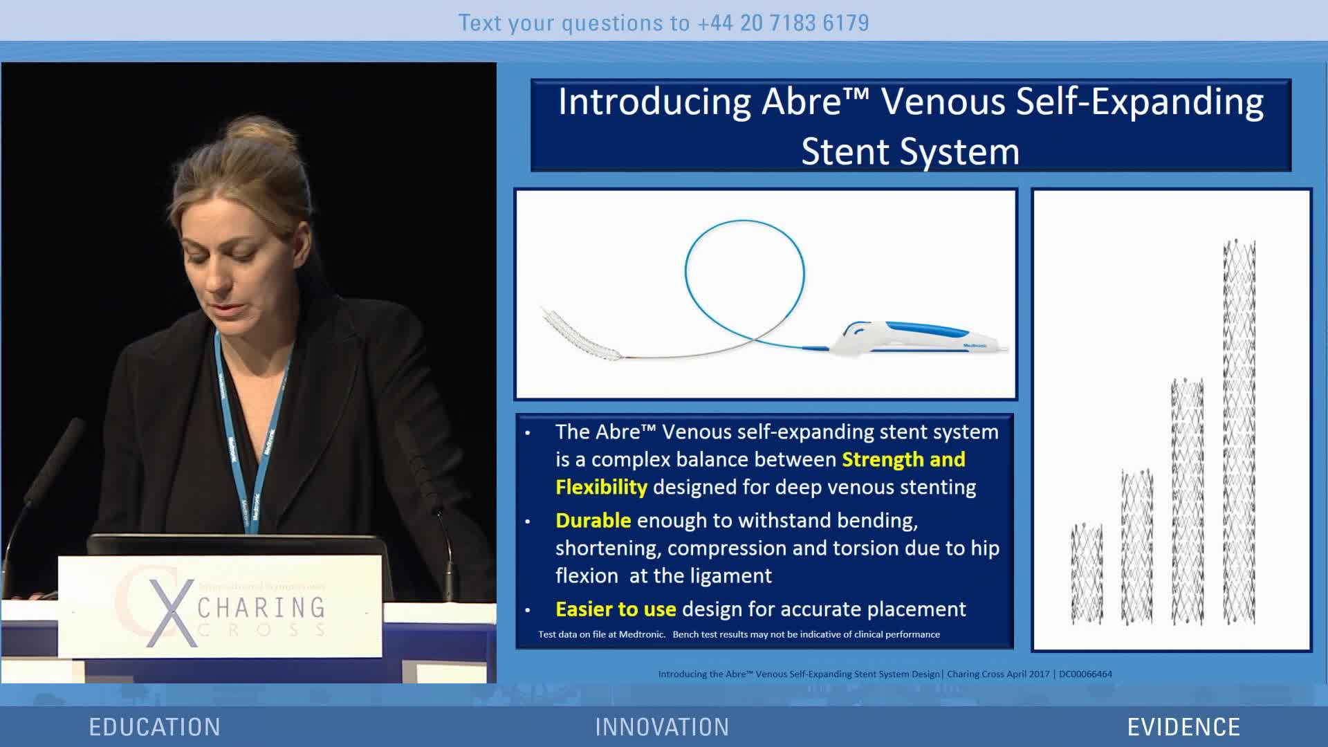 ABRE stent design