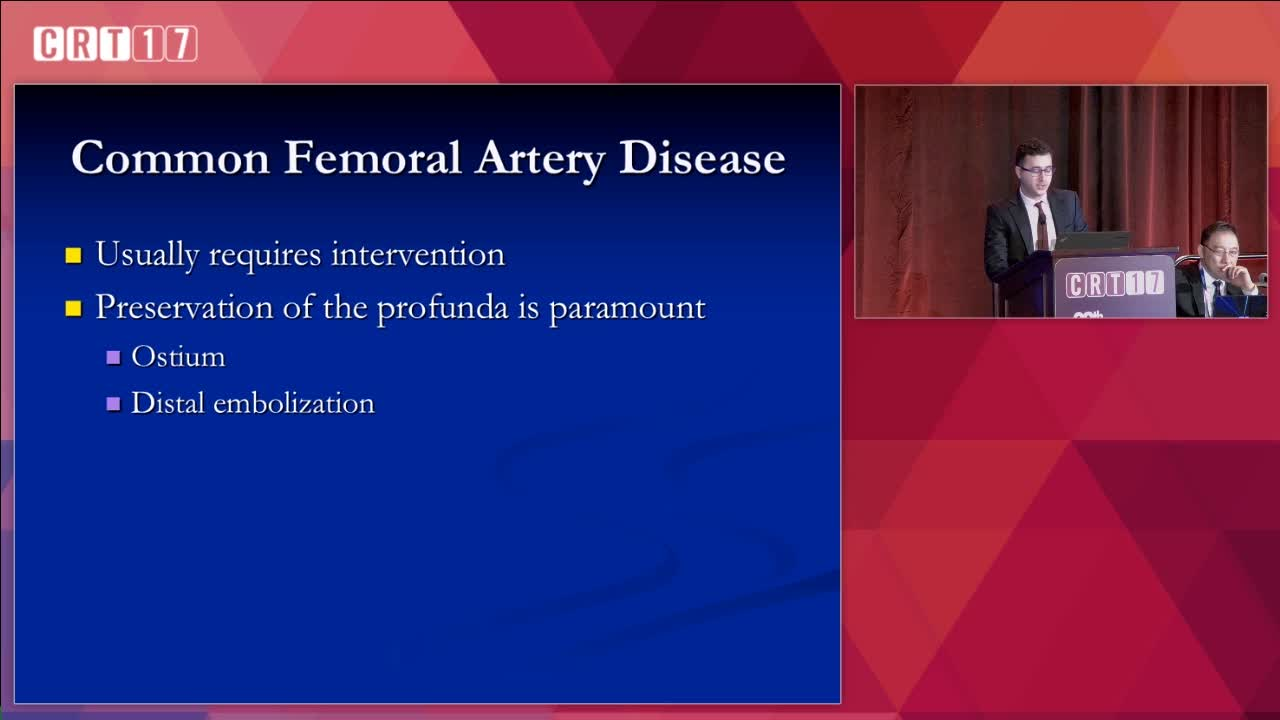 Common Femoral Artery Stenosis When Is Endovascular Therapy