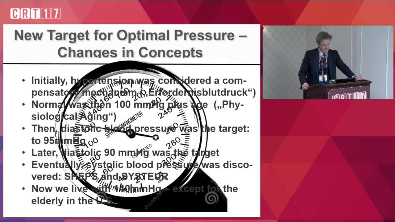 New Targets For Optimal Blood Pressure European Versus Us
