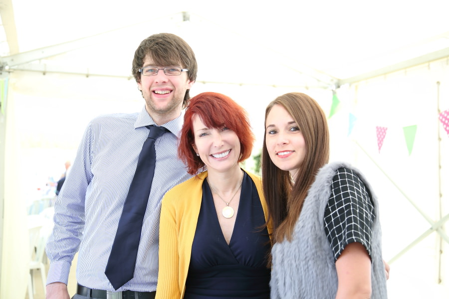 fun family photography at 100th birthday party bury st edmunds