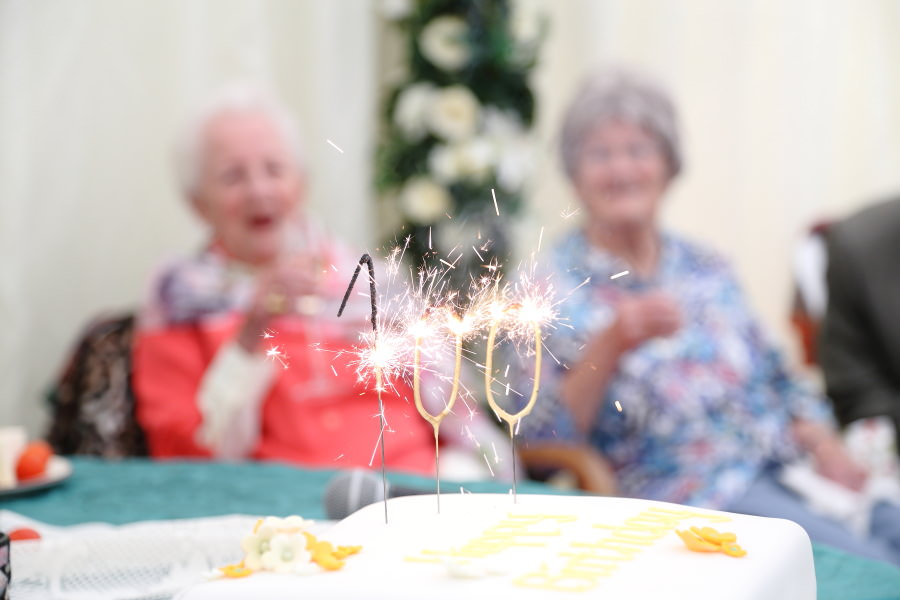 100th birthday party photography in bury st edmunds