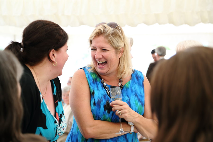 fun portrait photography at event in bury st edmunds