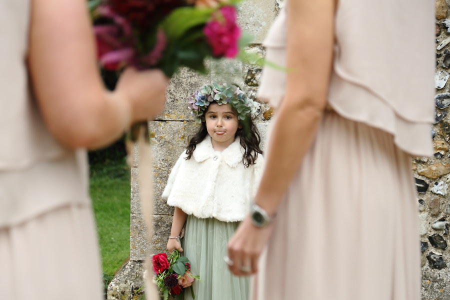 cute flowergirl, documentary wedding photography