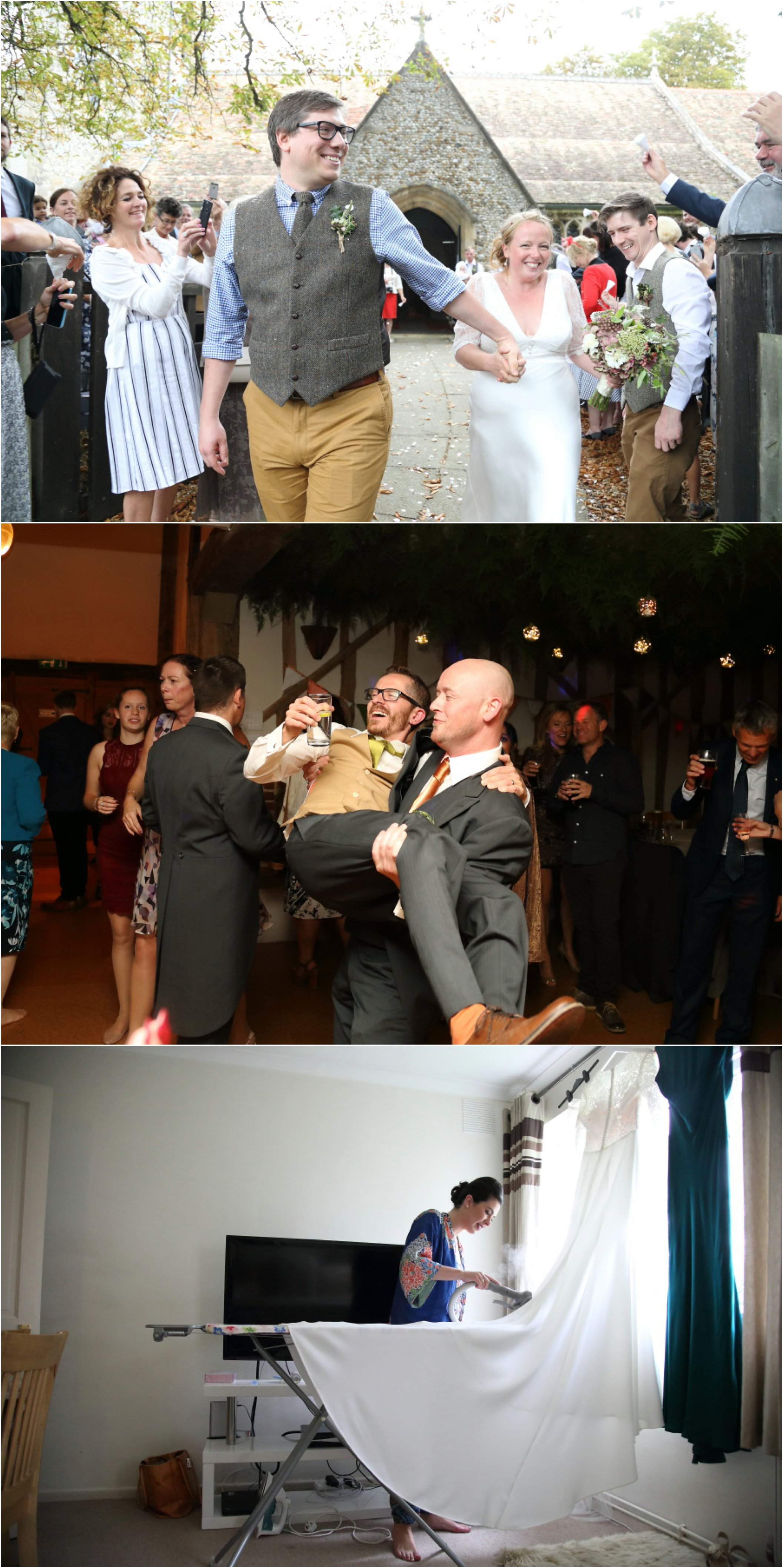 natural fun wedding photography in cambridge and london