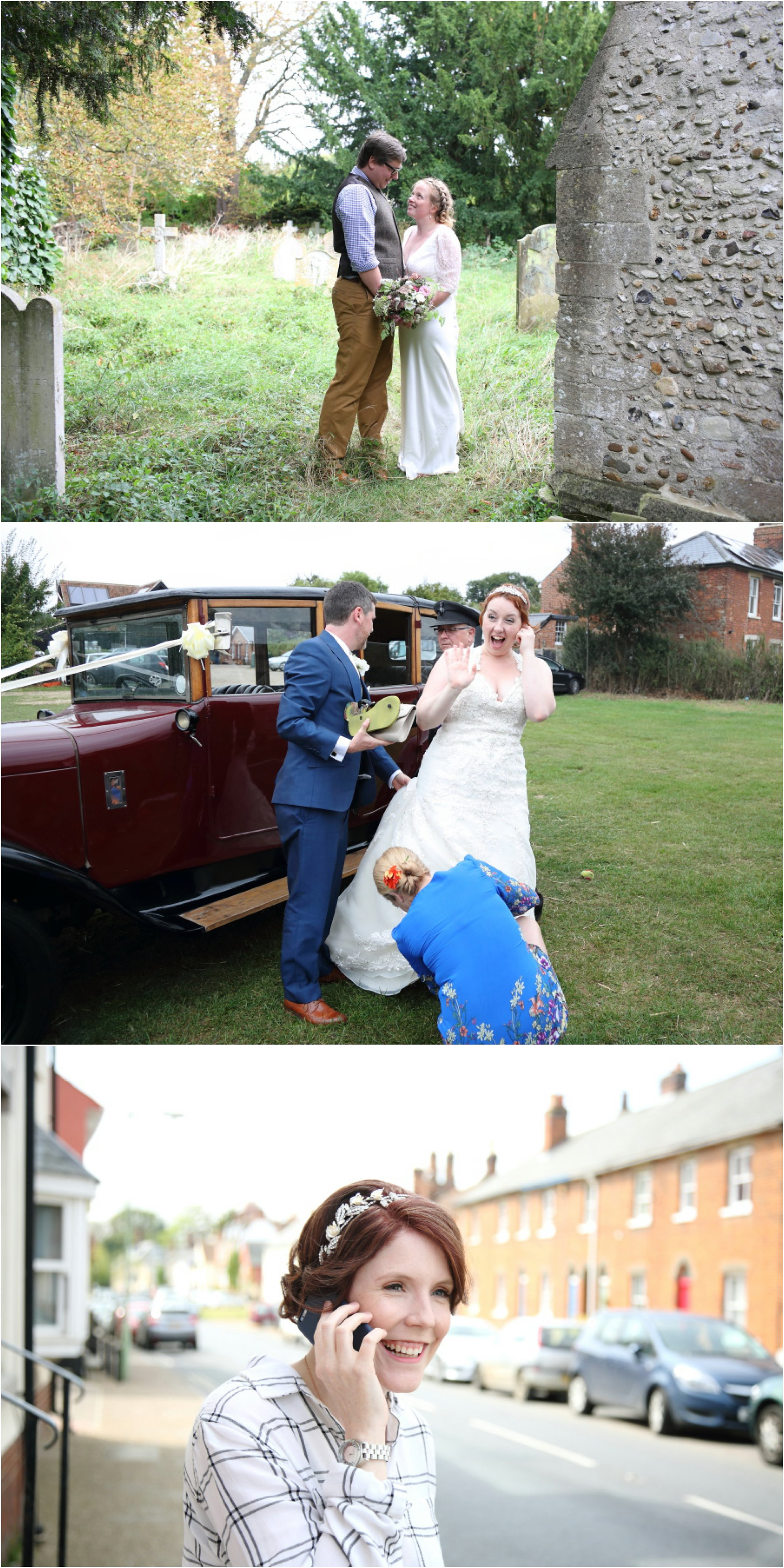cambridge fun wedding photography, natural and relaxed