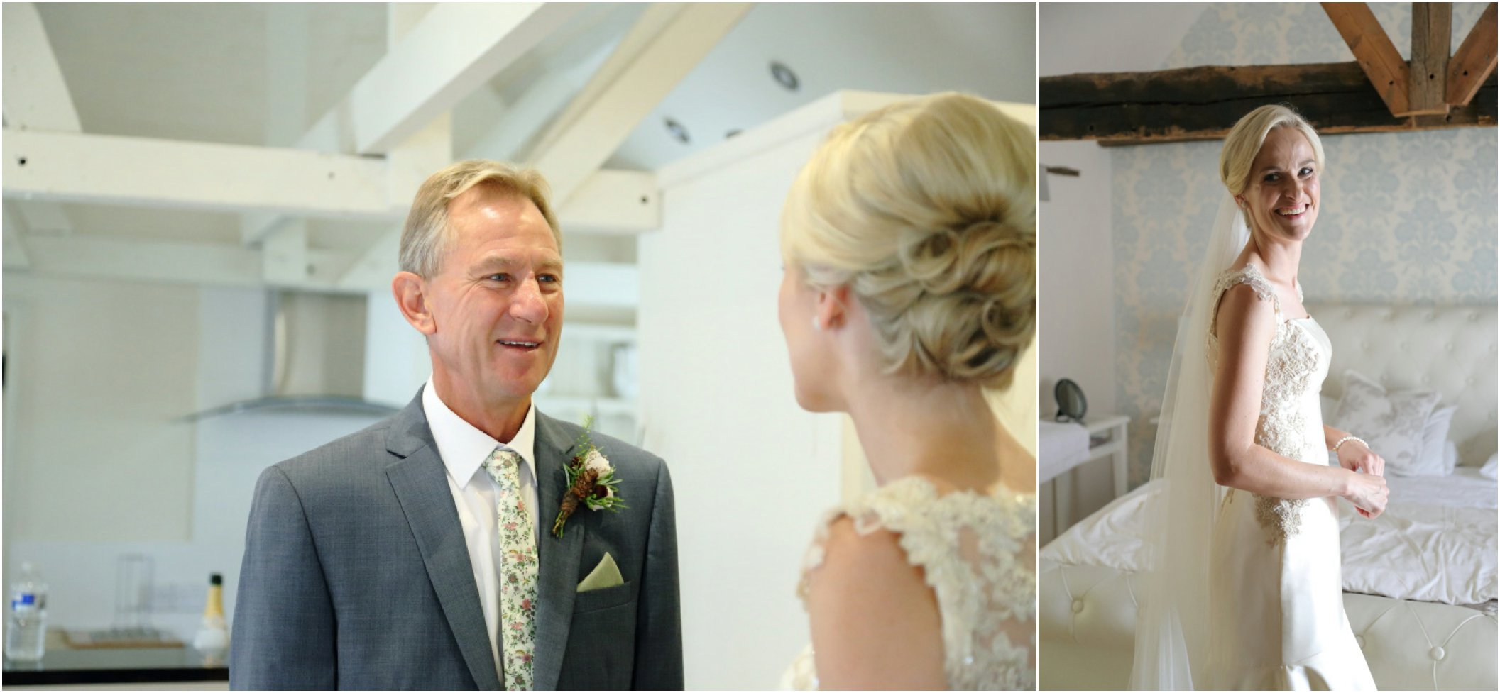 father of the bride, emotional at suffolk wedding
