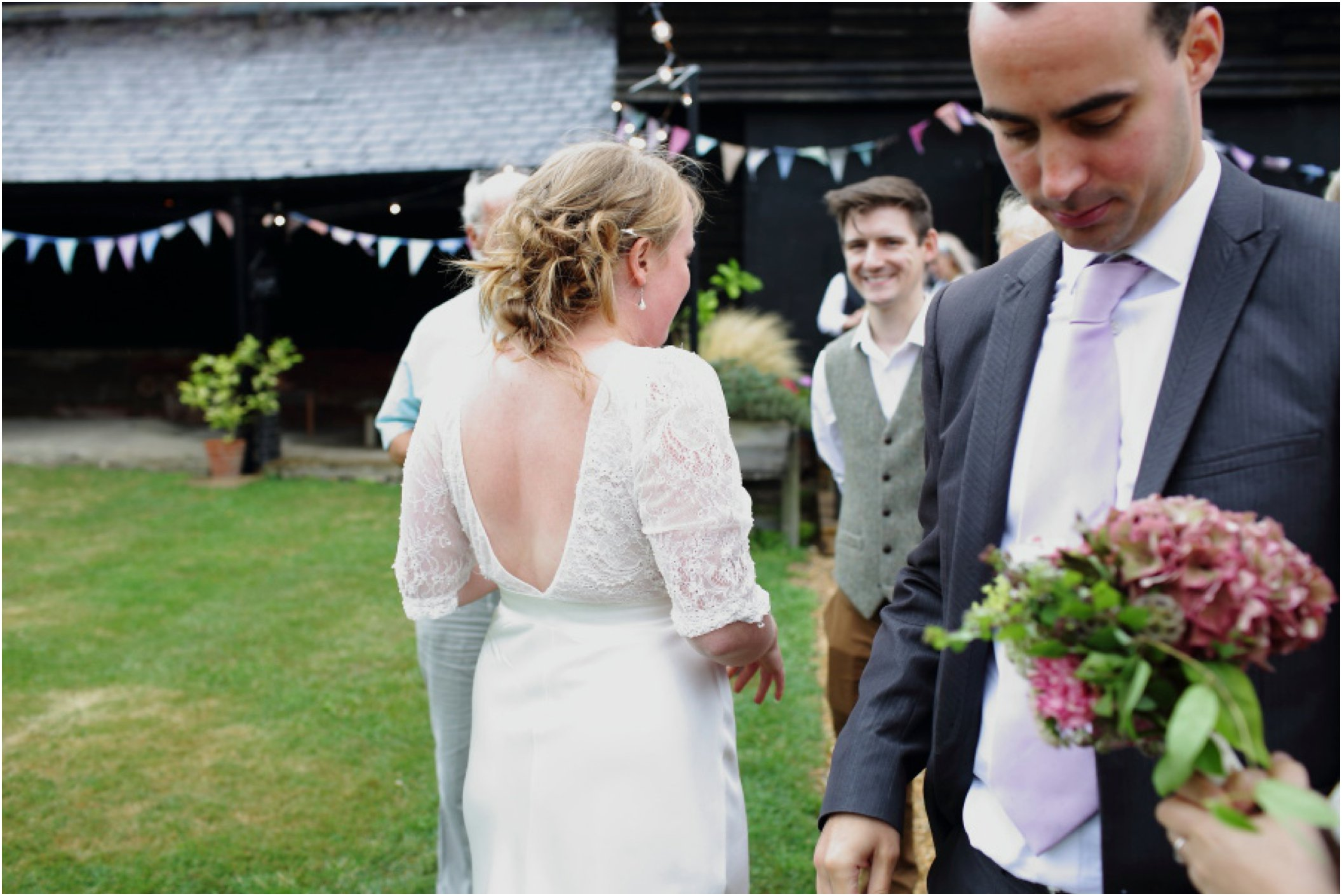 alternative wedding photography at Childerley Cambridge