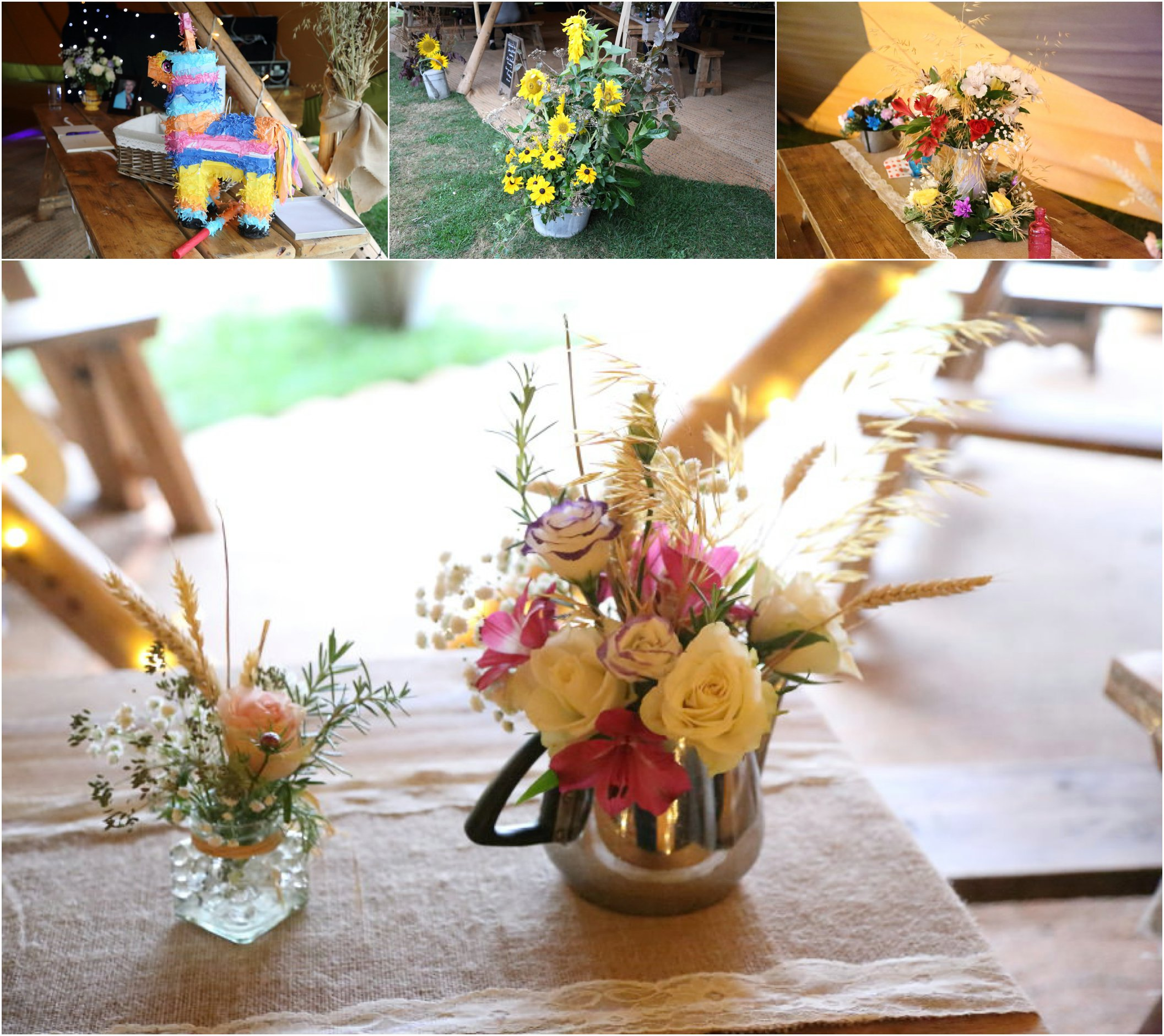 Wedding Flowers Suffolk: Suffolk Wedding Photography At The Swan Lavenham With Tipi