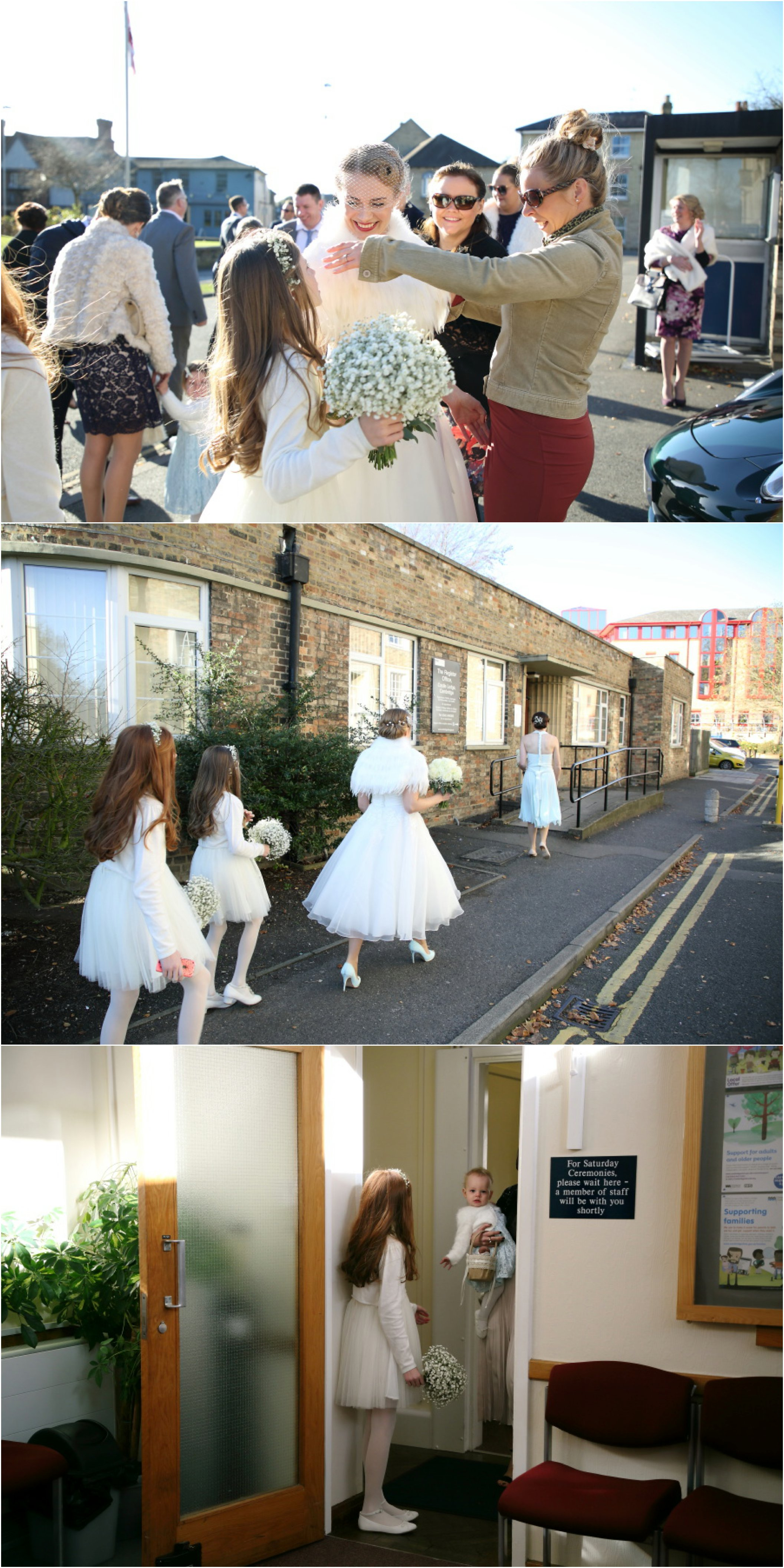 relaxed informal wedding photography at shire hall cambridge