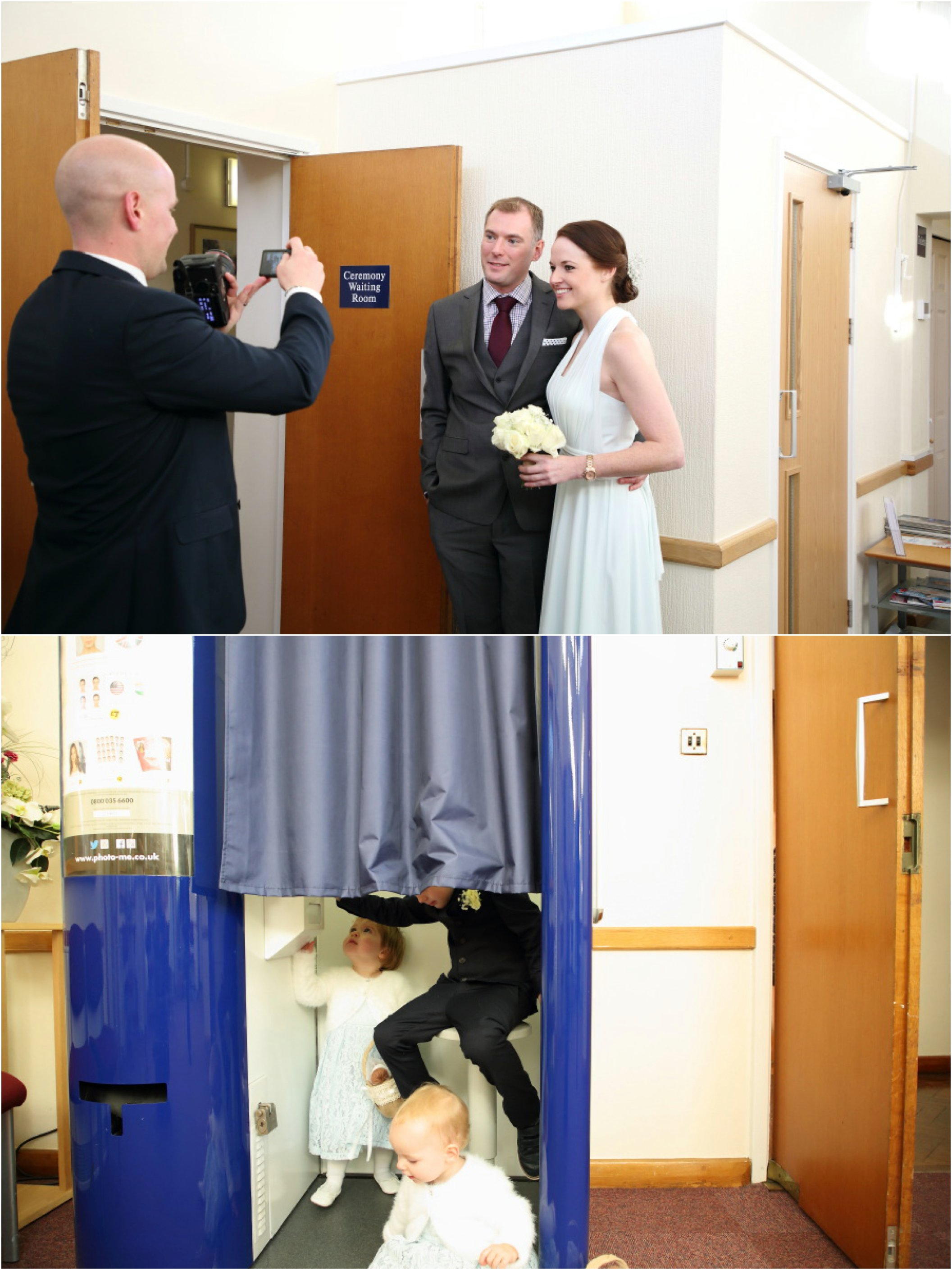 relaxed wedding photography at shire hall cambridge