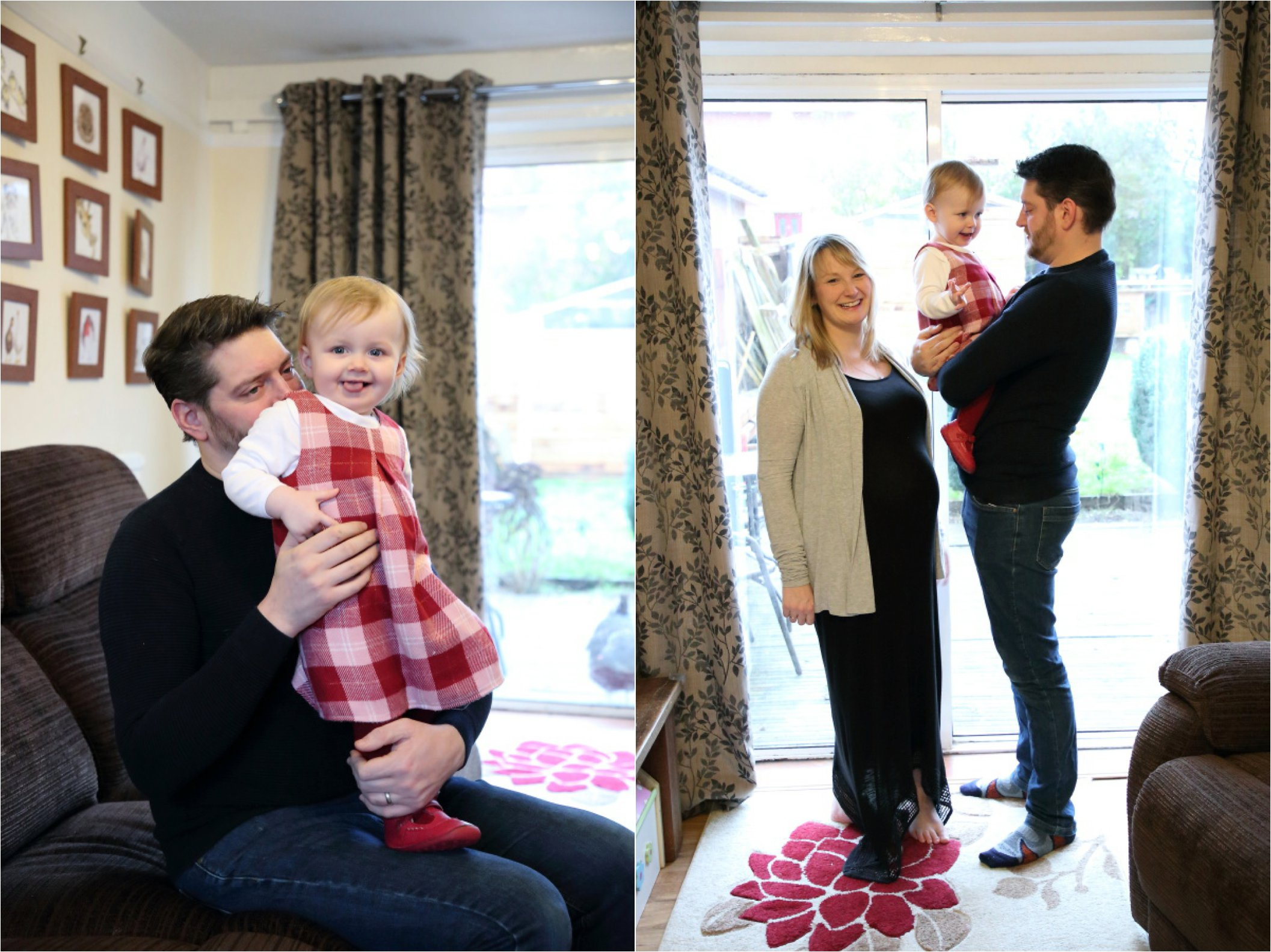 Relaxed family photography at home in Suffolk