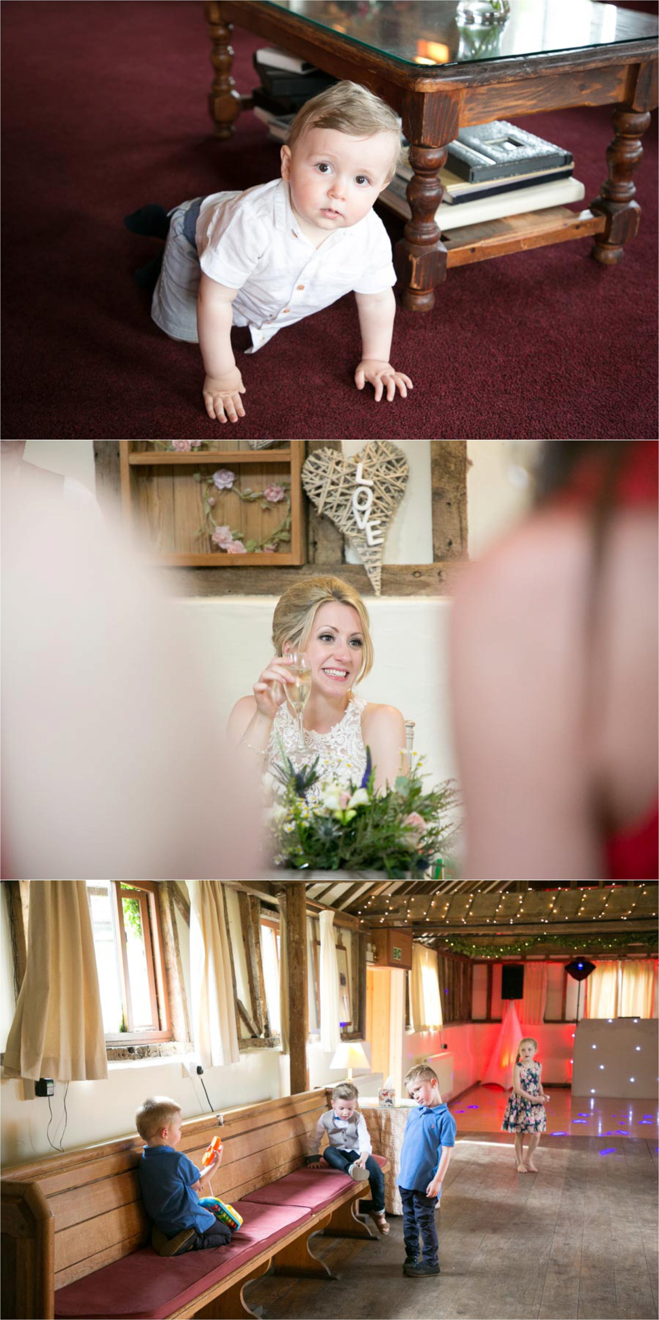 relaxed and natural wedding photography at the reid rooms, essex