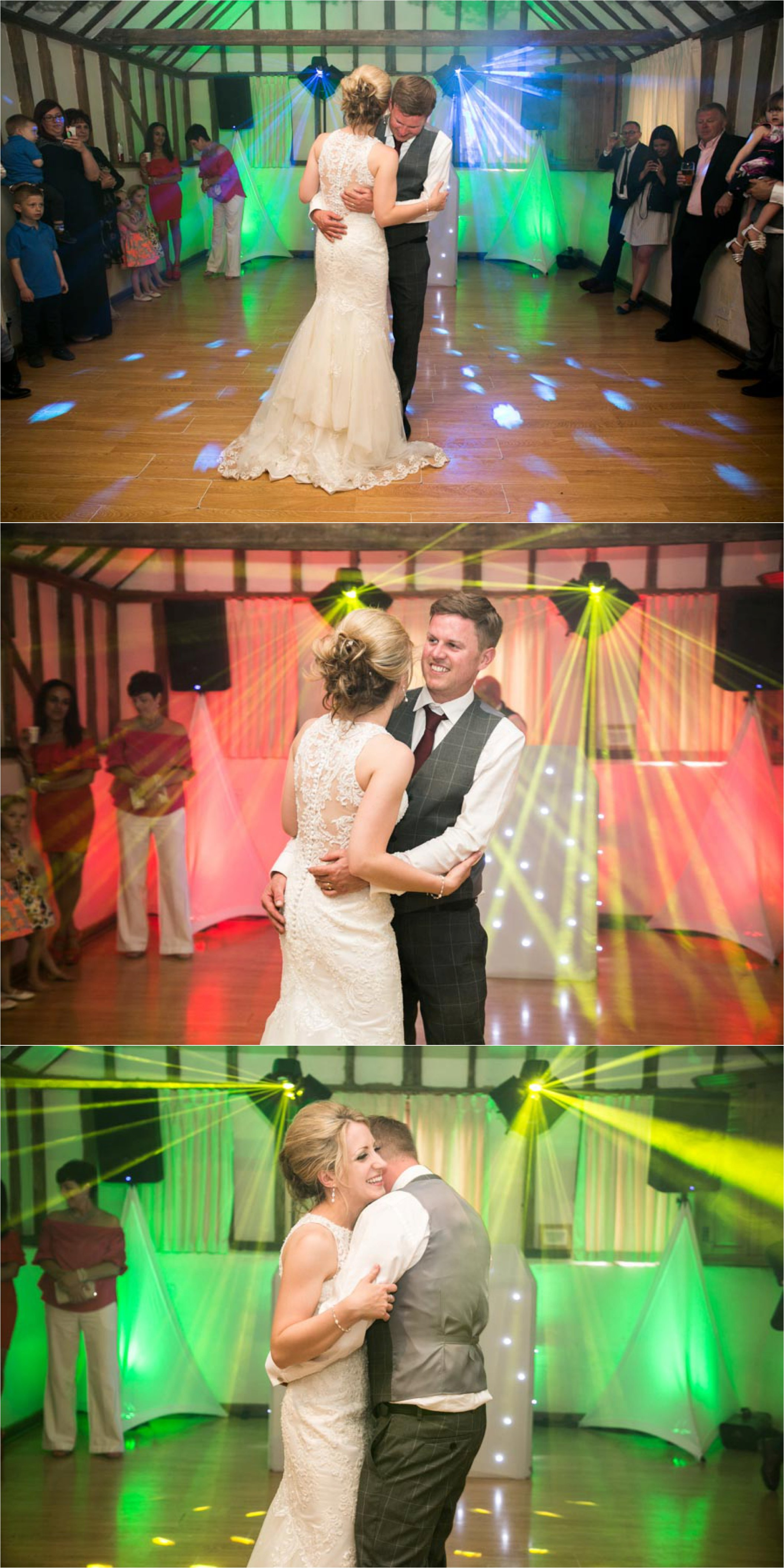 first dance at the reid rooms, essex