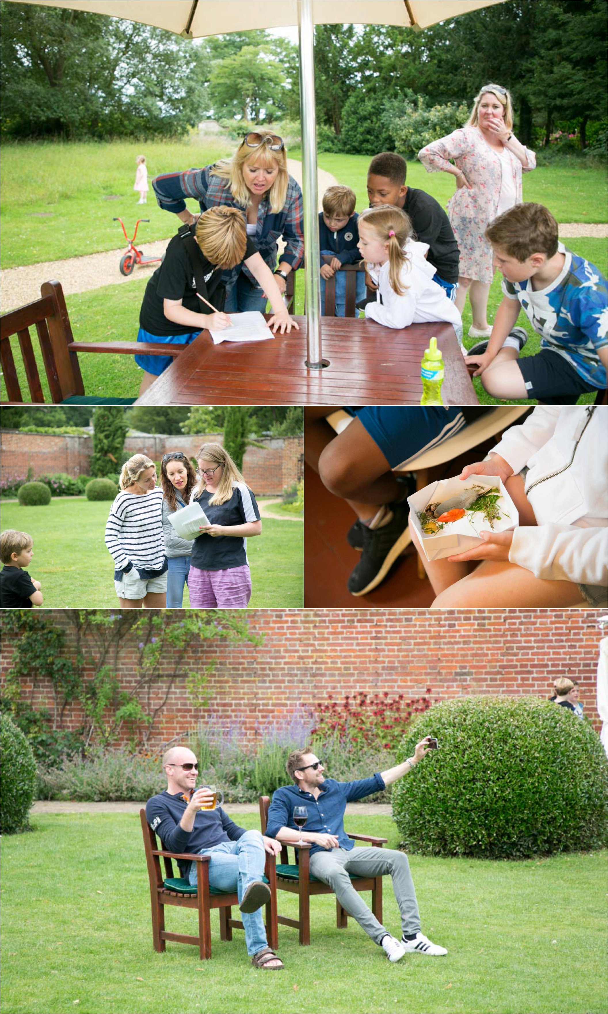 fun family photography at ickworth hotel suffolk