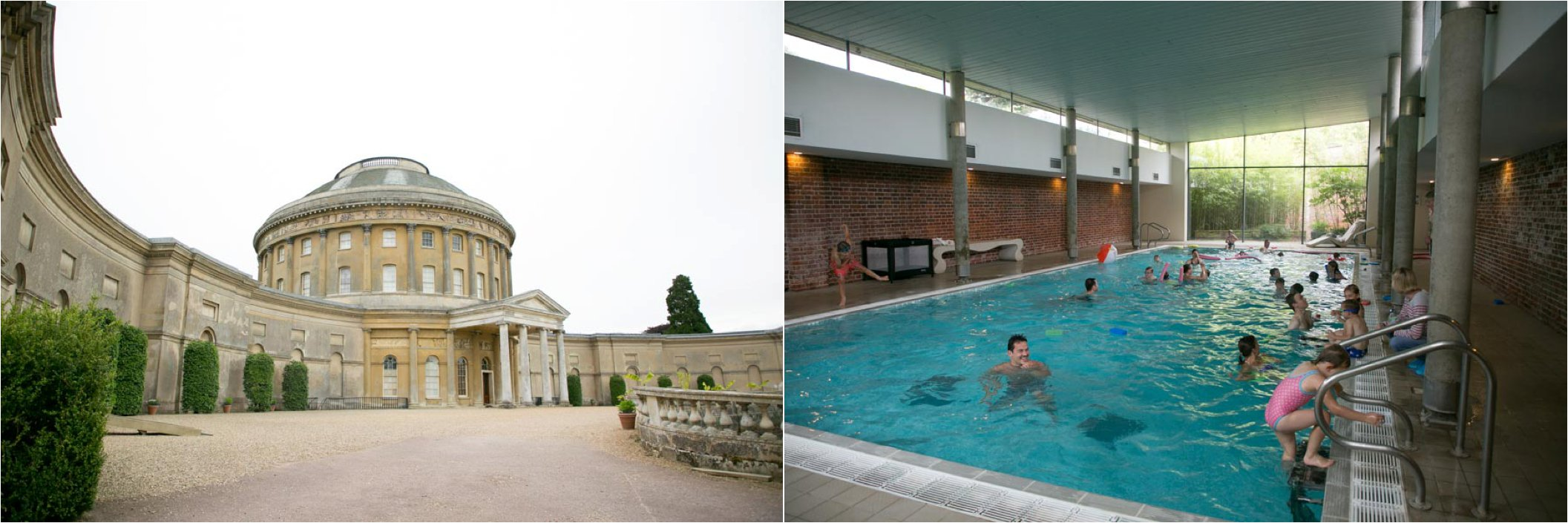 ickworth hotel suffolk, photography swimming pool