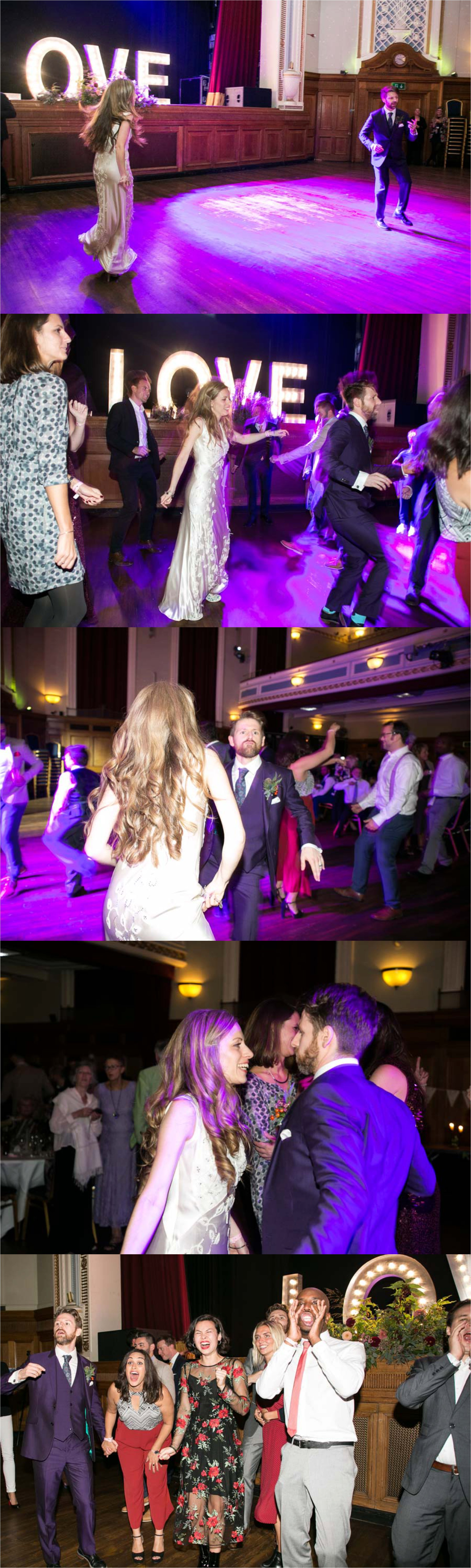 amazing wedding dancing at islington assembly hall wedding