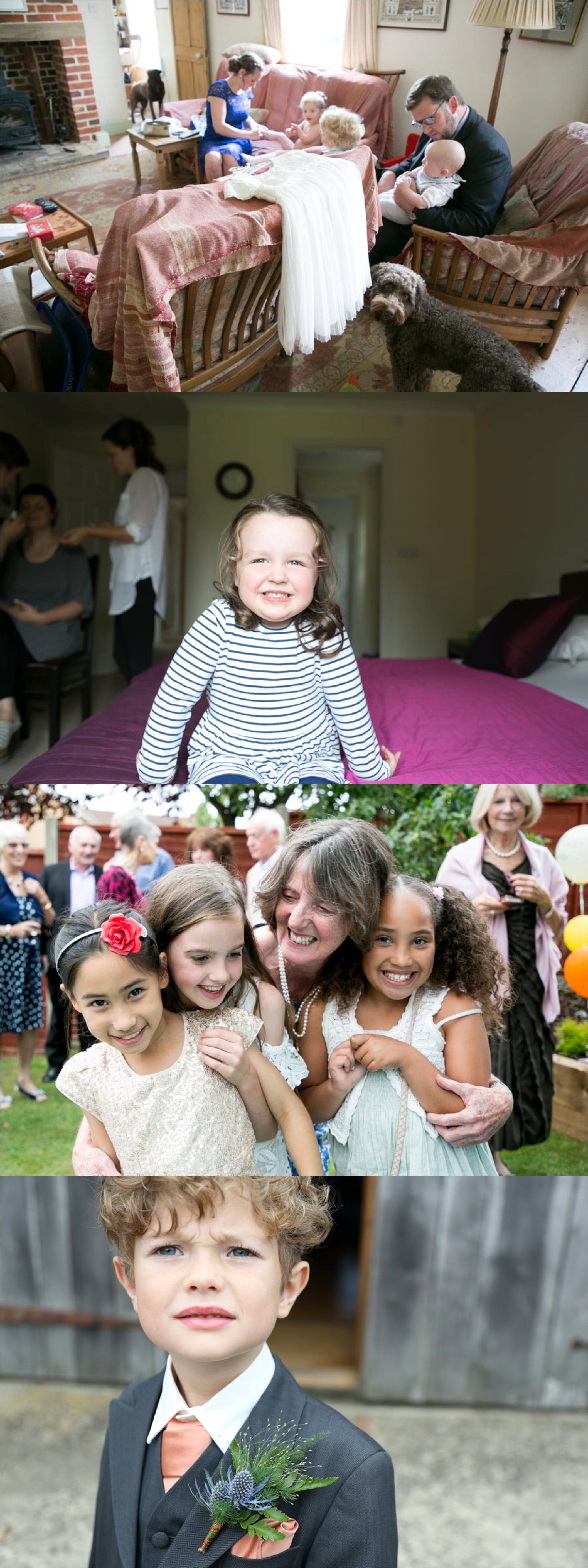 are you having children at your wedding? hints and tips from cambridge wedding photographer