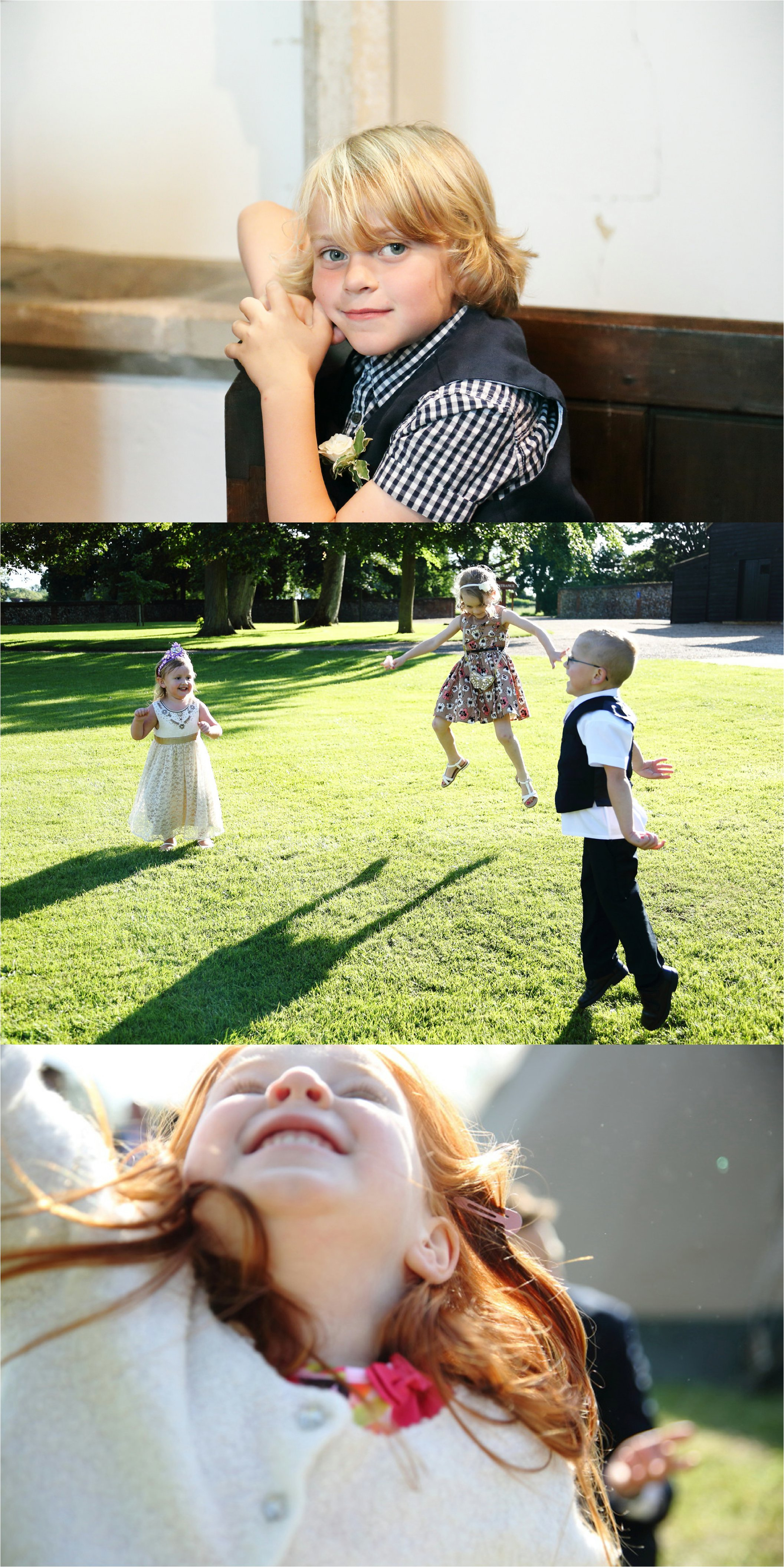 grerat photos of kids at weddings, cambridge wedding photographer