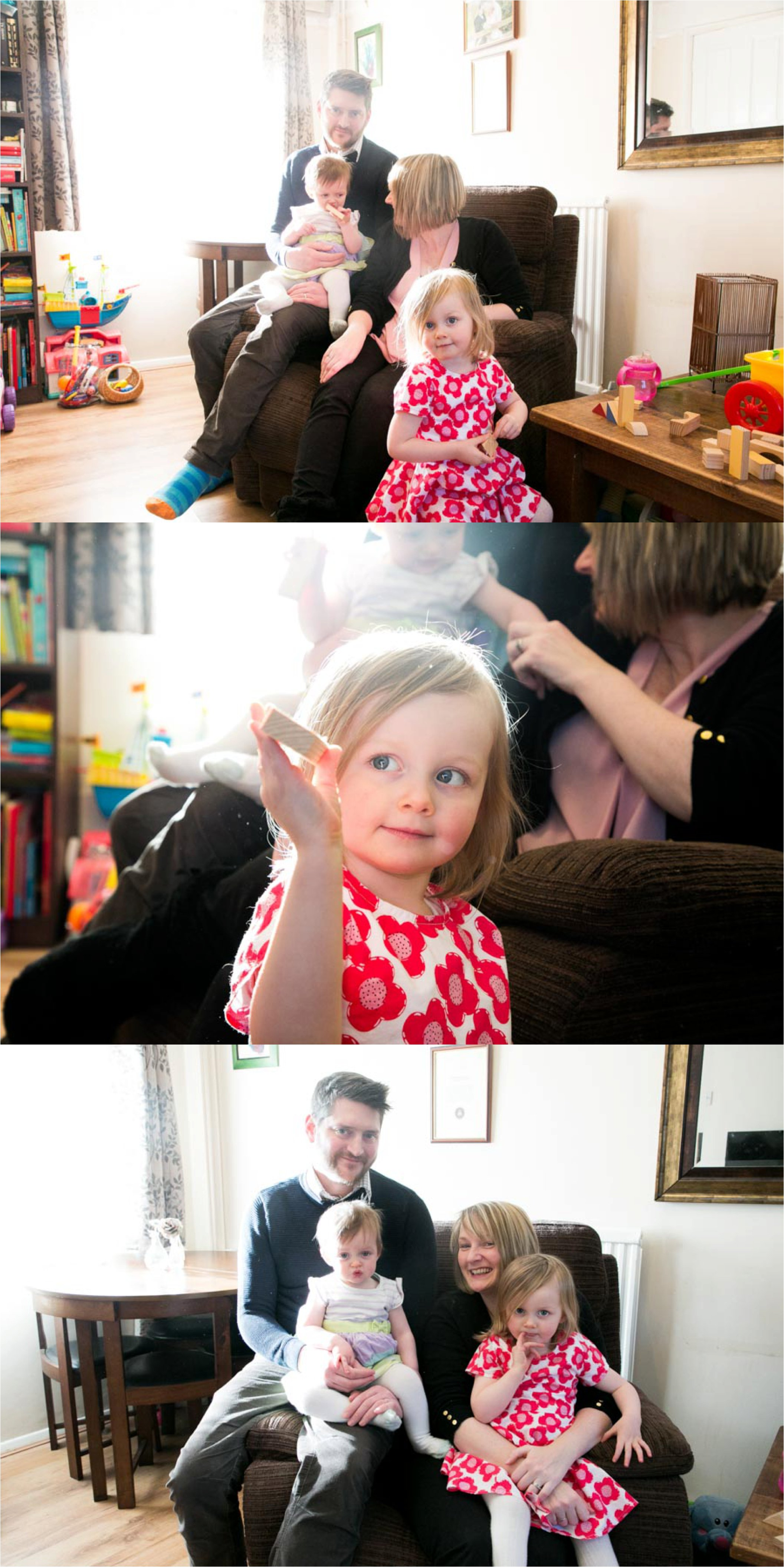 at home family photography session in suffolk