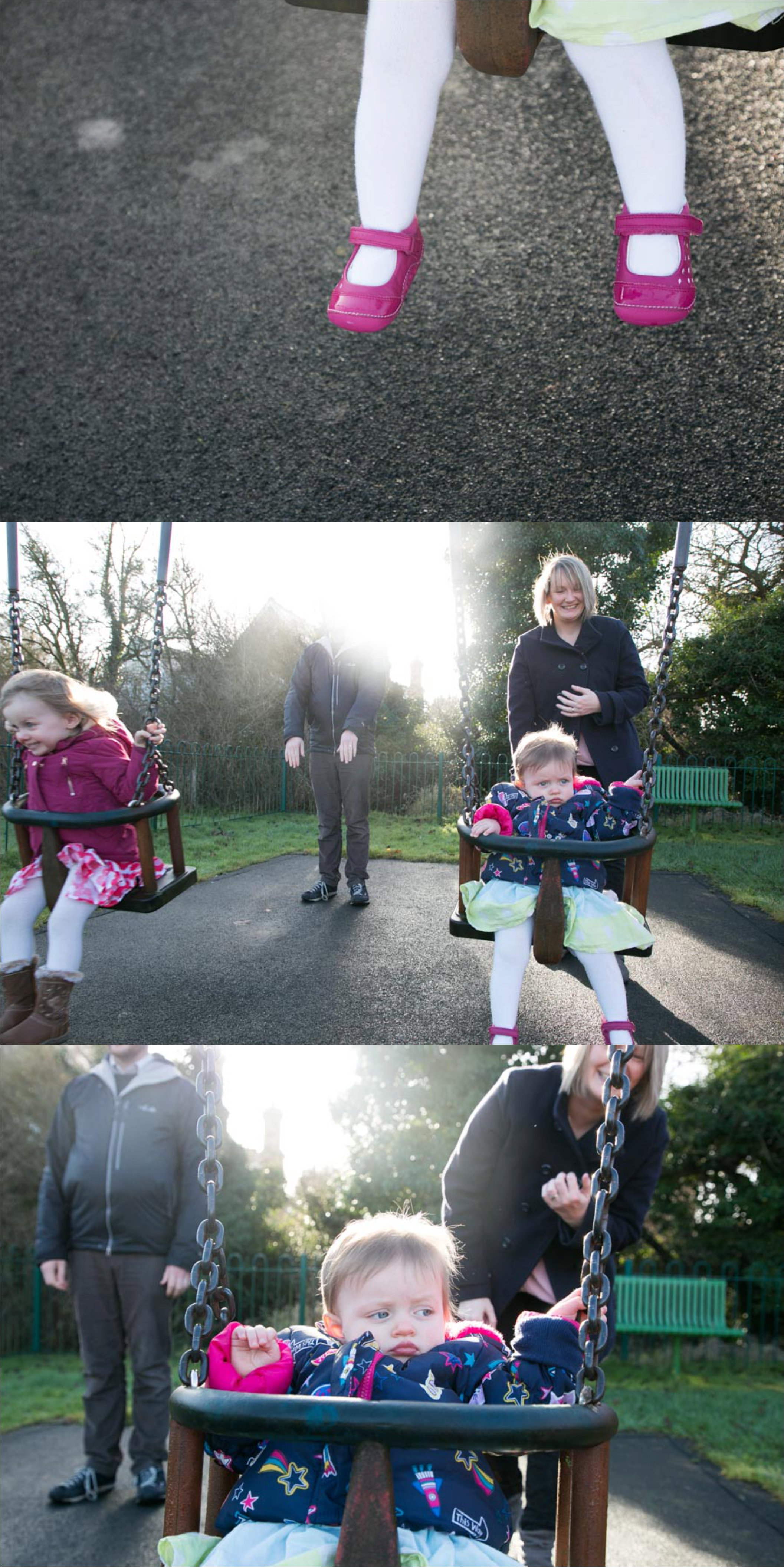 fun park times at documentary family photography session