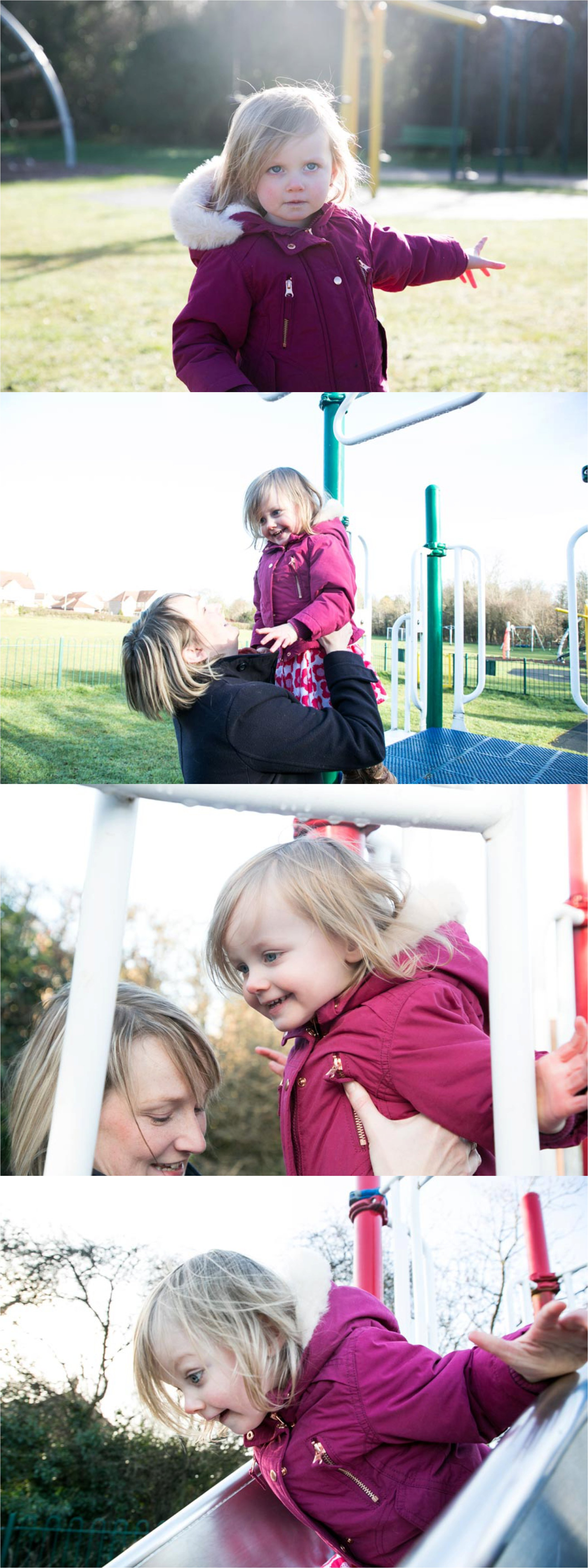 great expressions captured while playing at the park at suffolk family photography shoot