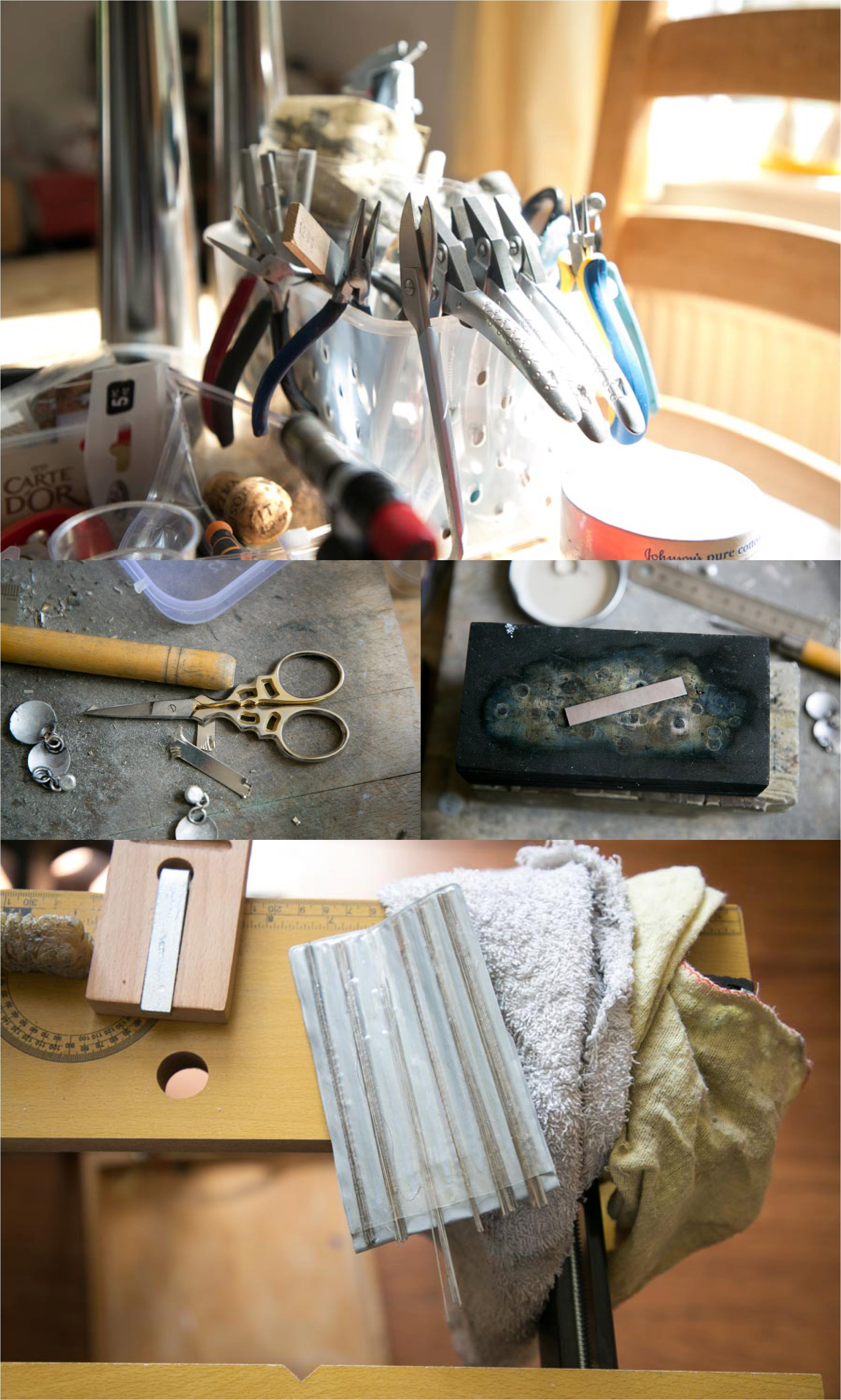 jewellery makers tools at home in cambridge