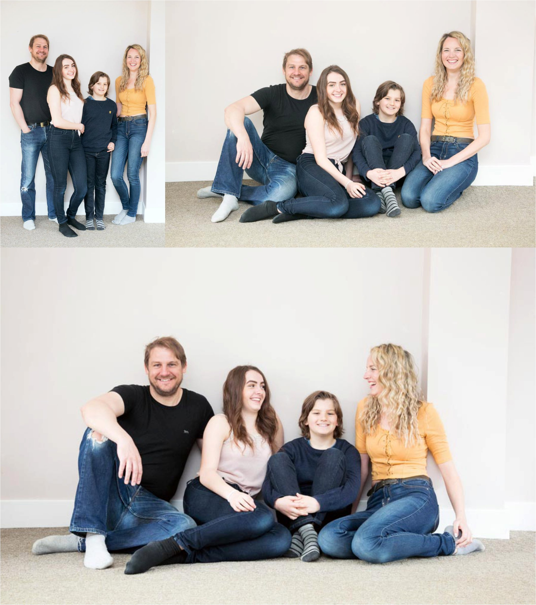 relaxed family photography suffolk