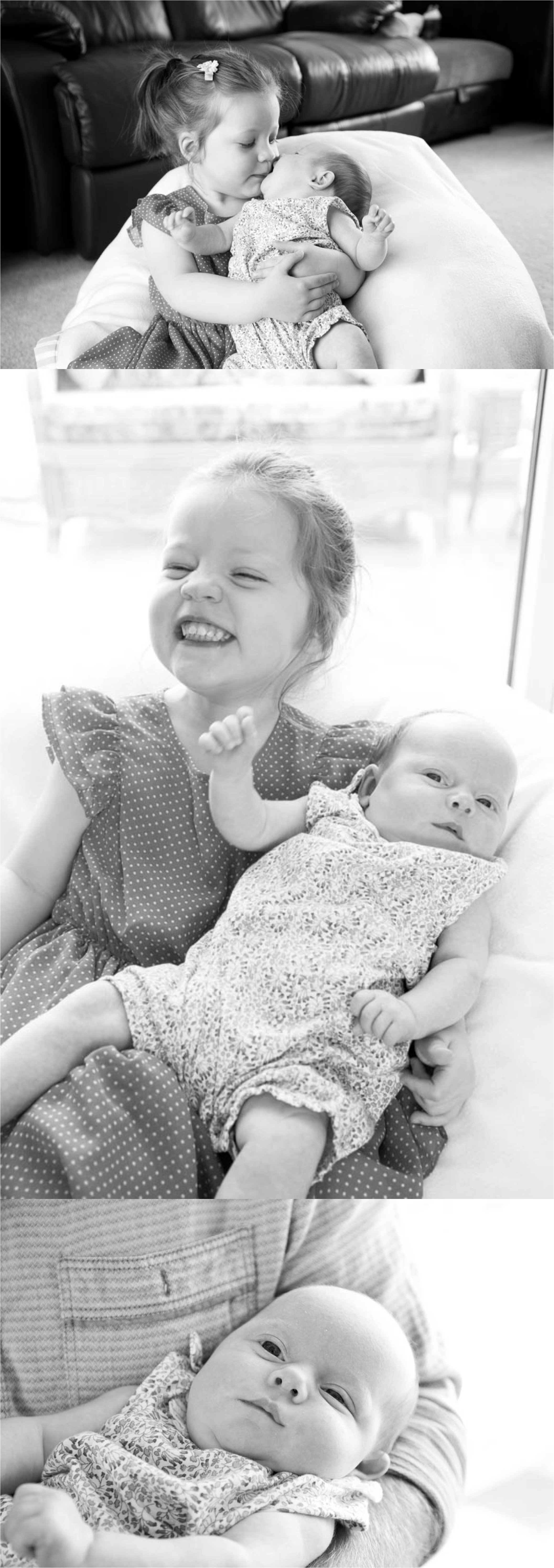 Relaxed family photography in black and white, bury st edmunds suffolk