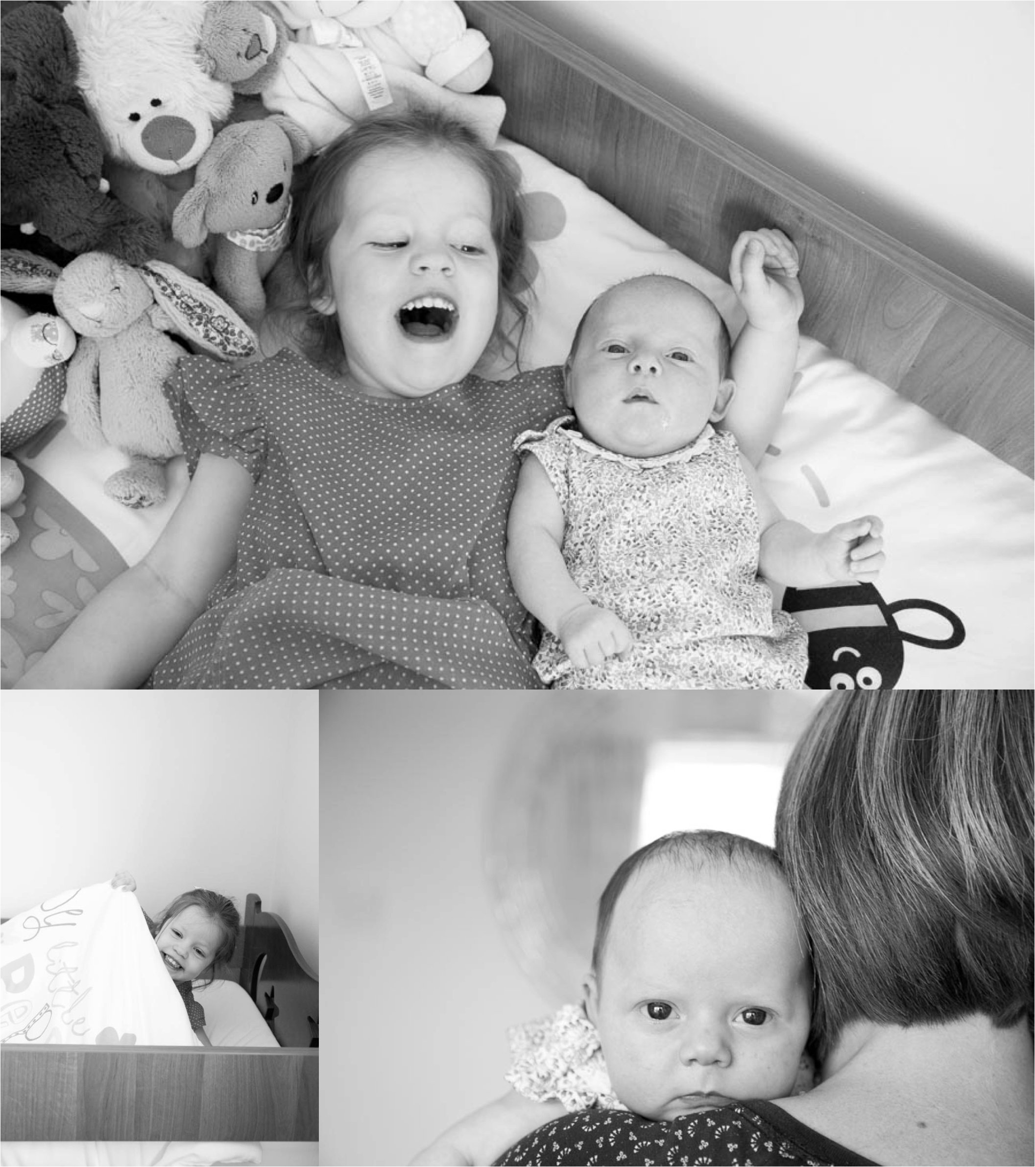 Relaxed childrens photography in black and white, bury st edmunds suffolk