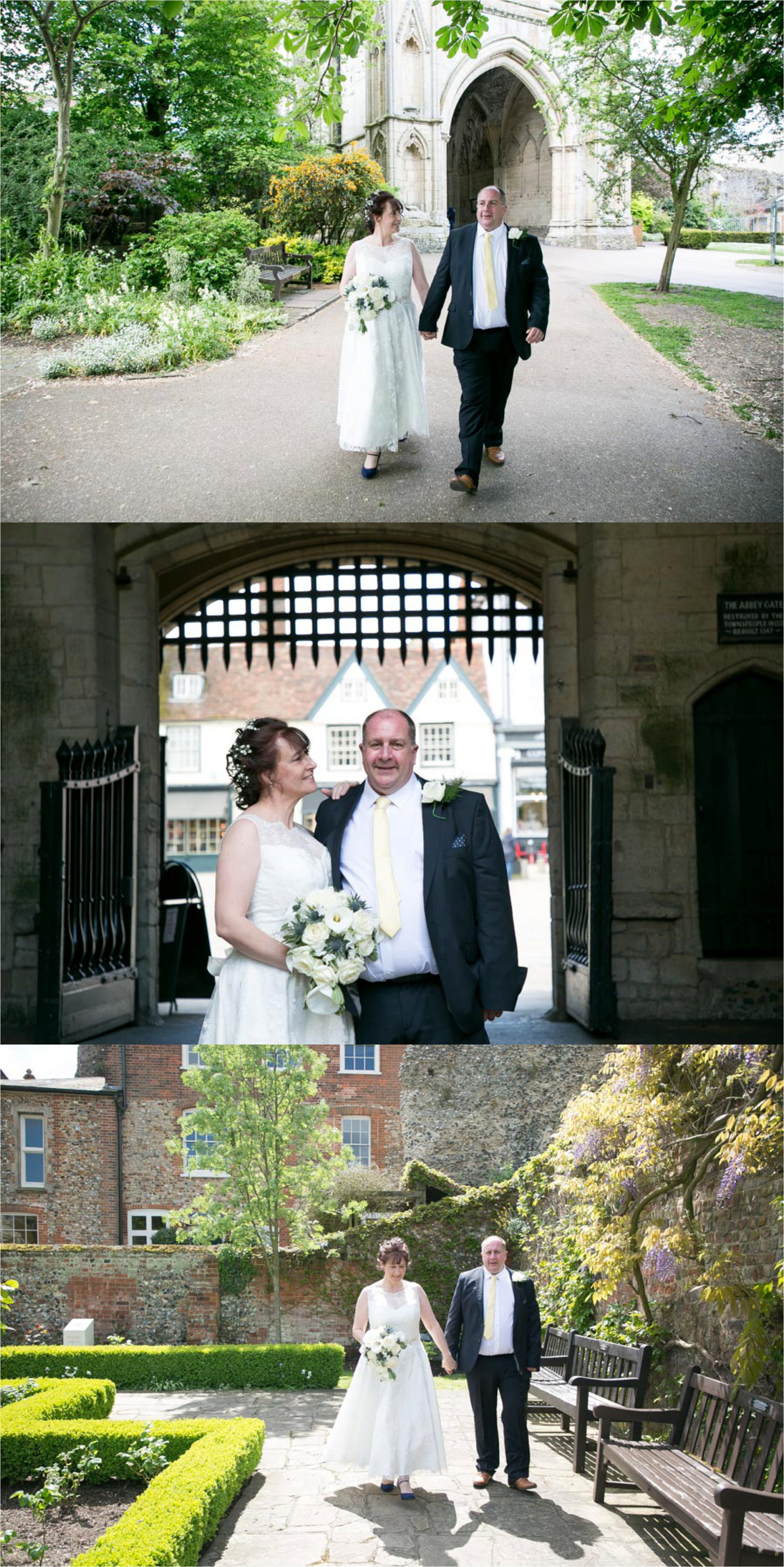Wedding photography at Athenaeum Bury St Edmunds, and Abbey Gardens, Suffolk