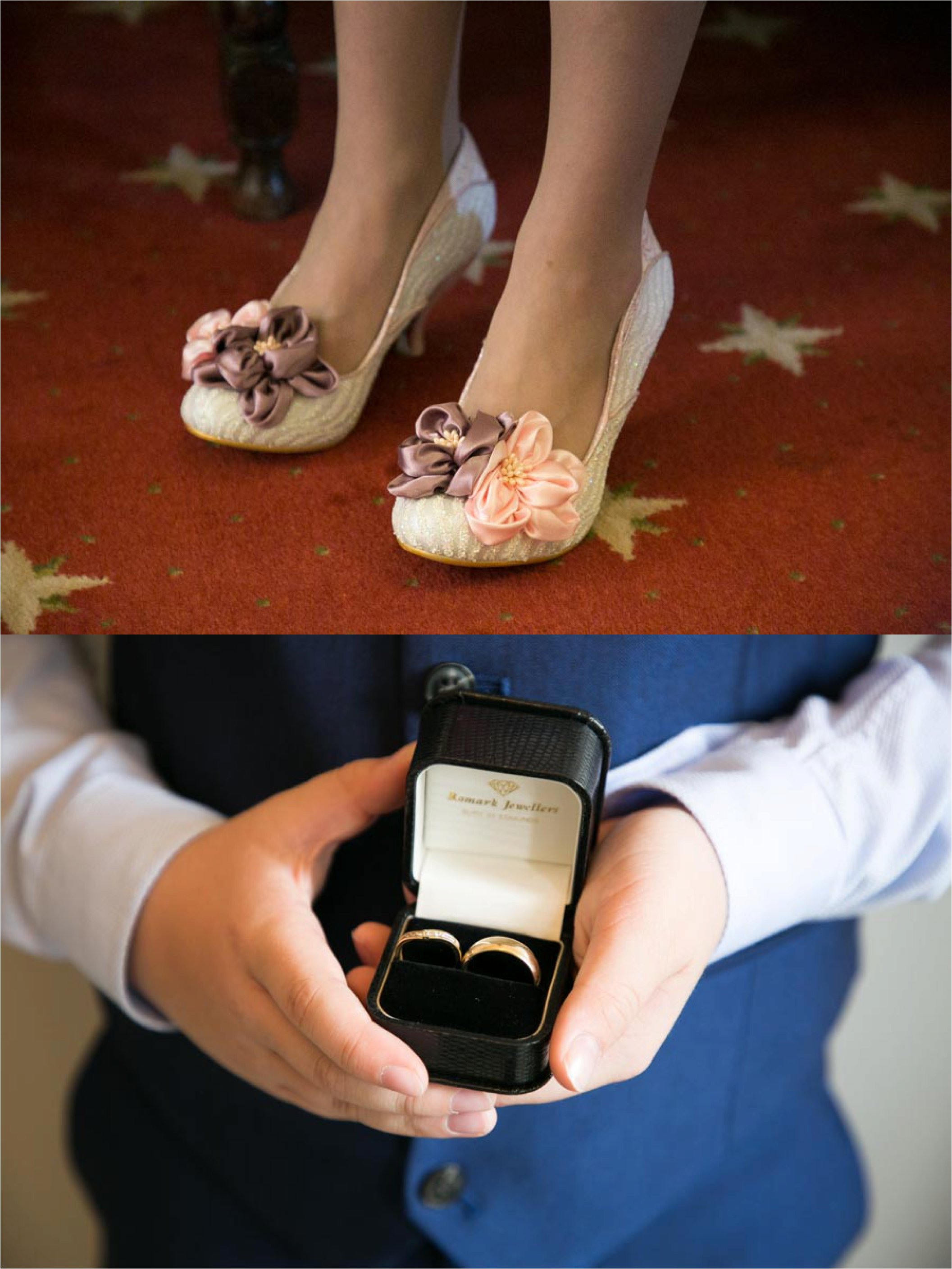 Irregular choice wedding shoes at The Athenaeum Bury St Edmunds