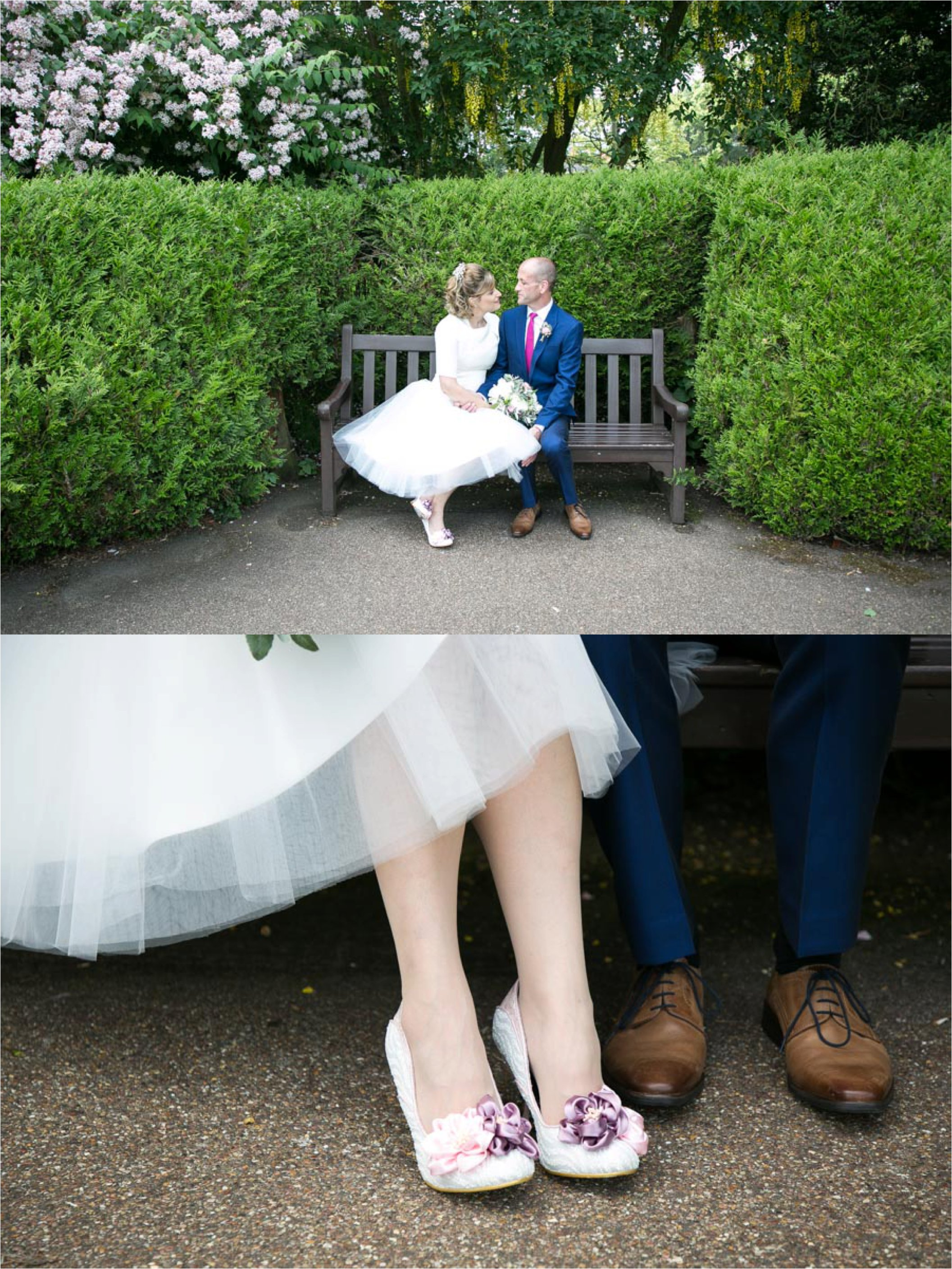 Abbey Gardens wedding photography, Bury St Edmunds. 50's themes wedding