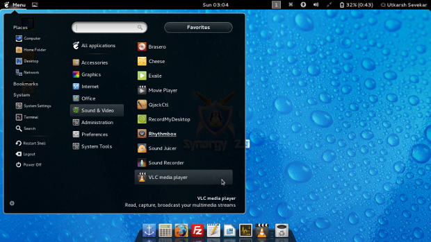 Customized Gnome Shell